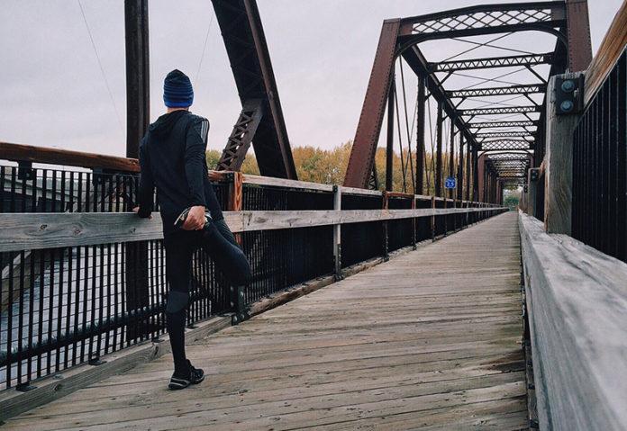 Muskelaufbau am Bein